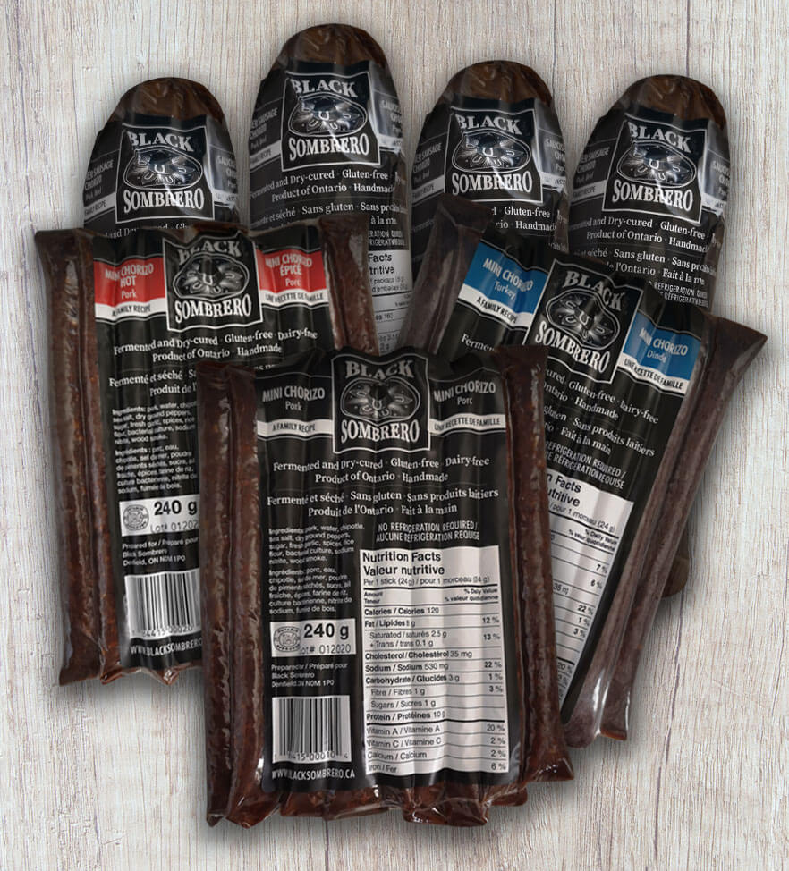 4 Summer Sausage – 3 Assorted